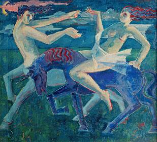Kentaur und Amazone