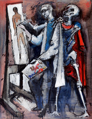 Der Tod und der Maler