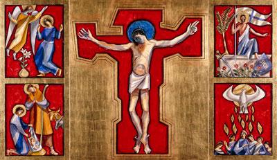 Triptychon im Pfarreizentrum Goldau